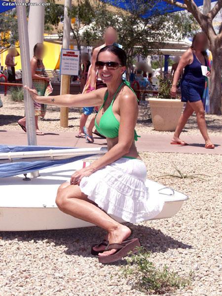 Catalina Cruz bikini