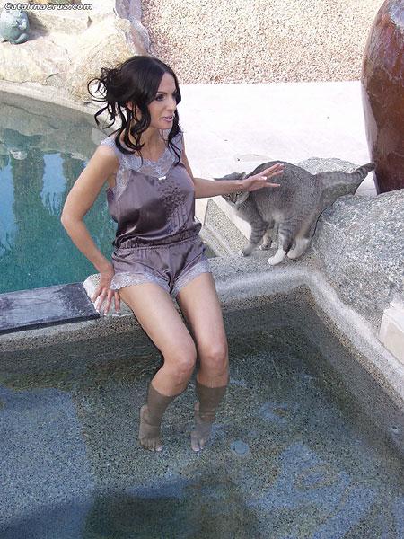 Catalina Cruz pussy