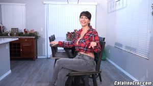 Catalina Cruz in chair