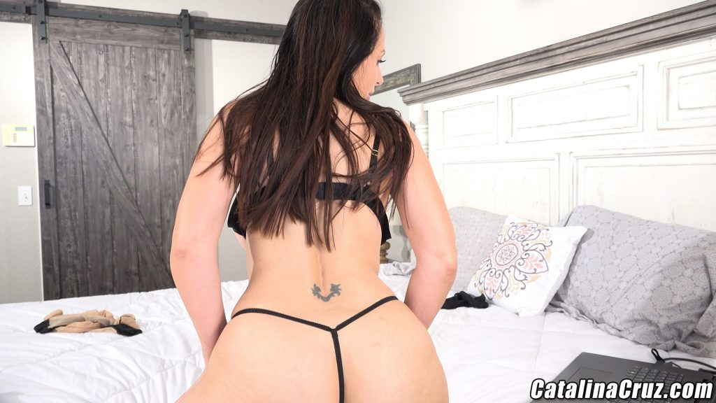 Catalina Cruz thong