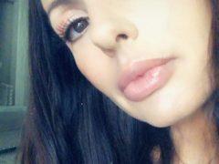 Catalina Cruz selfie on Snapchat