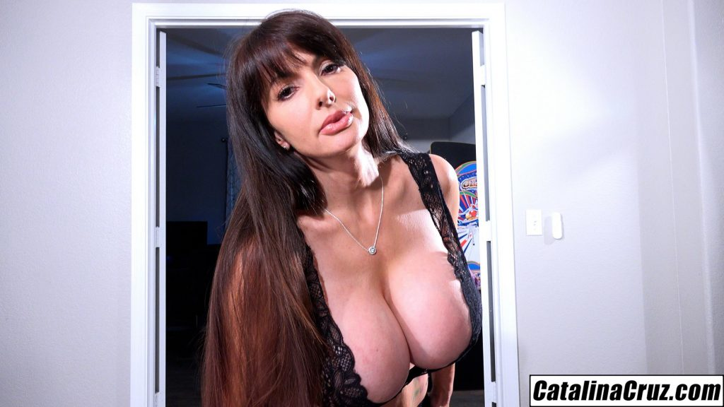 Catalina Cruz I do a sexy striptease turns into titty fucking