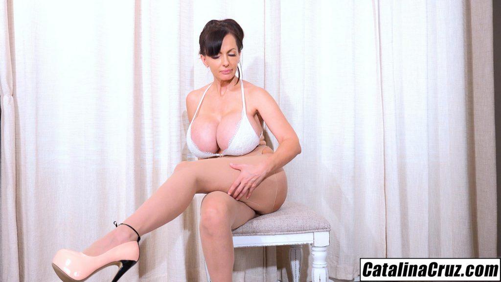 Catalina Cruz sexy stocking fetish ride lately