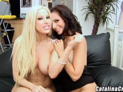Gina Lynn and Catalina Cruz webcam lesbian sex
