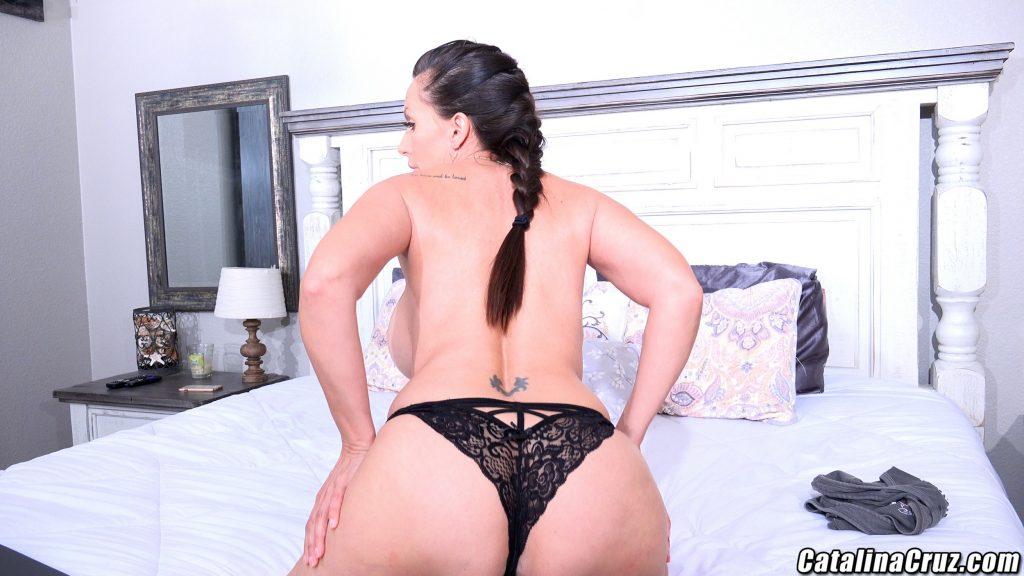 Catalina Cruz big ass thong